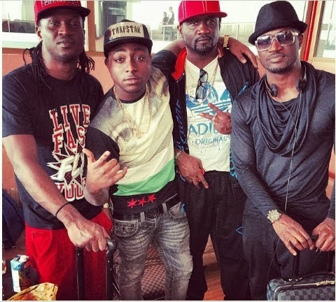 psquare in niger concert