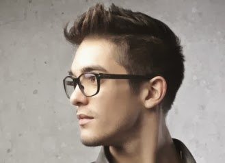 Hairstyles For Glasses Male : glasses view: Glasses & Mens Hairstyles