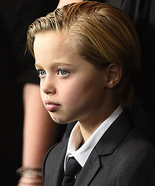 Shiloh John Jolie Pitt (photo: ROBYN BECK/AFP/GETTY IMAGES)