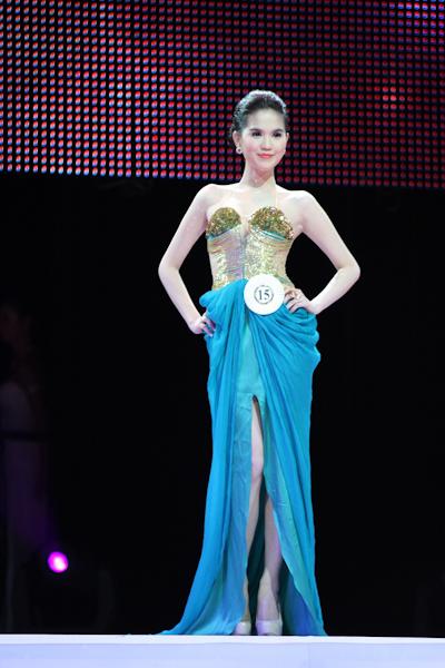 More photos of Ngoc Trinh, Miss Vietnam Continent 2011