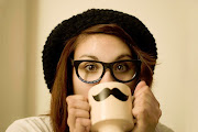 Lady mustache