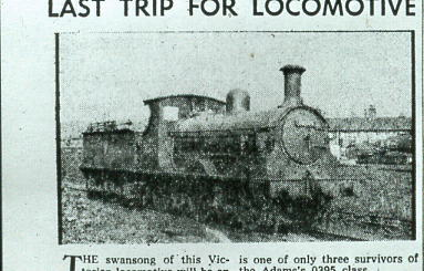30567 used to haul Portsmouth Direct Centenary Train  1959