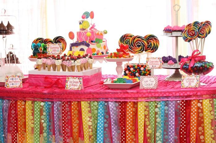 Amazing Candy Land Birthday PartyLots of Photos Plus Tutorials