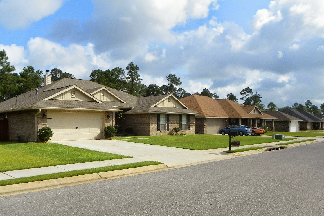 Newly constructed Southwest Pensacola neighborhood near Alabama/ Florida state line