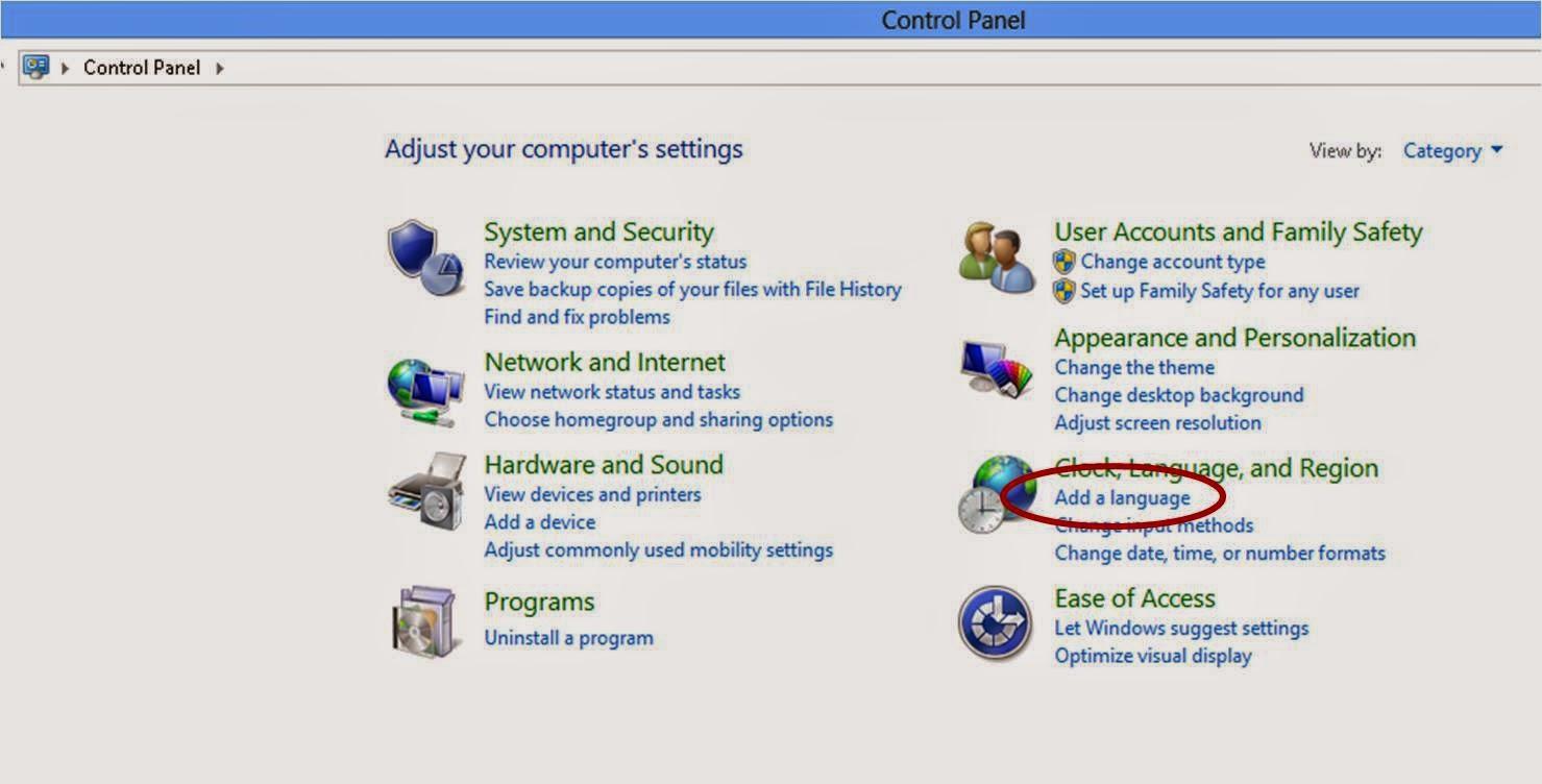 Cara Menulis Arab Pada Windows 8