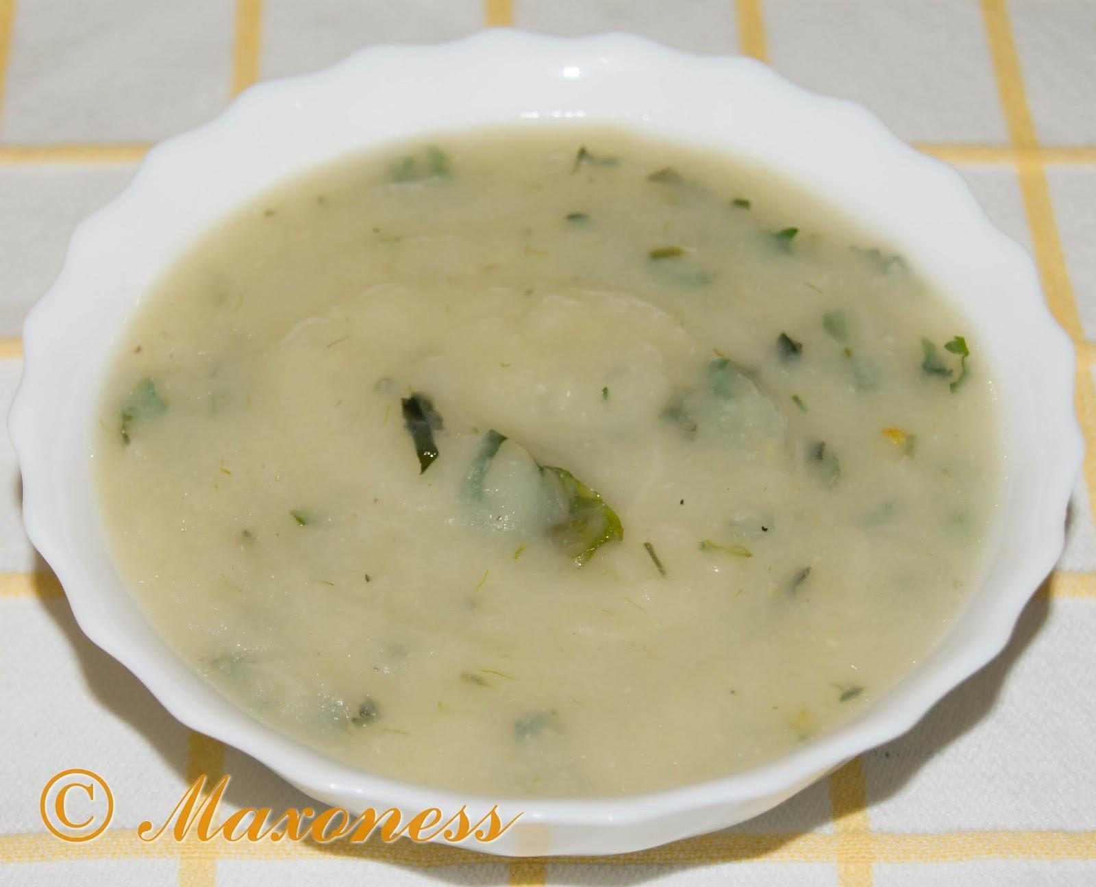 Фенхелевый суп из Авиньона. Французская кухня.