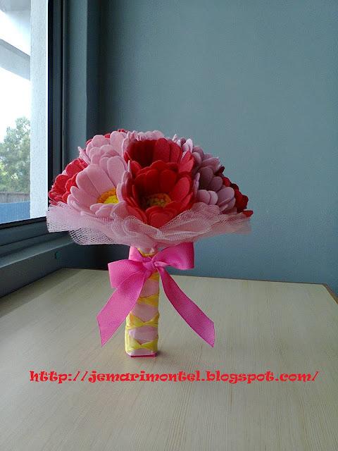 Hand Bouquet cantik, unik
