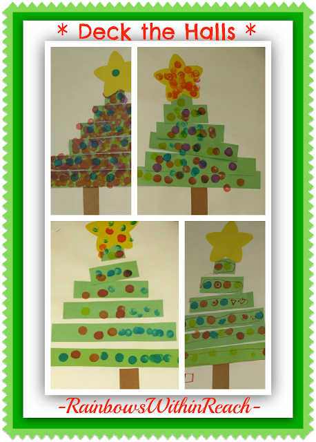 photo of: Christmas Tree Craft for Young Children at PreK+K Sharing