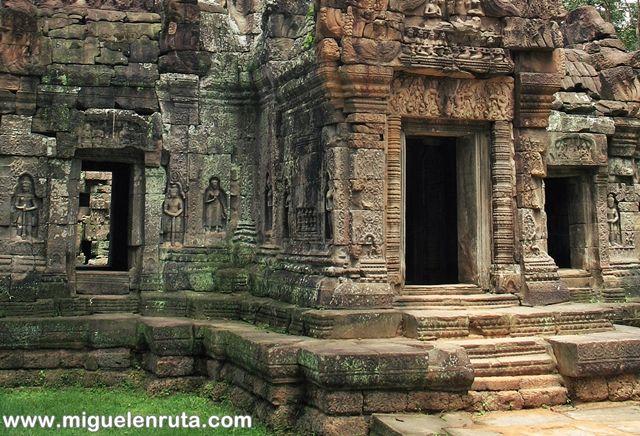 Bajorrelieves-Ta-Som-Angkor