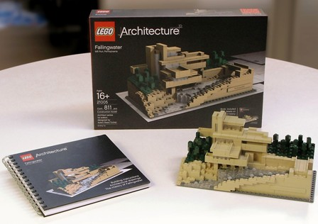 Lego Architecture Fallingwater8