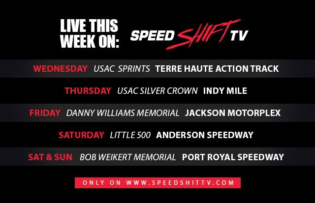 Upcoming Races on Speed Shift