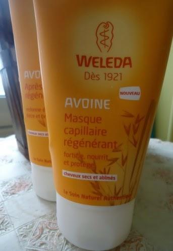 Soins cheveux à l'avoine Weleda