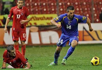 Bosnia-Herzegovina 5 - 0 Luxembourg