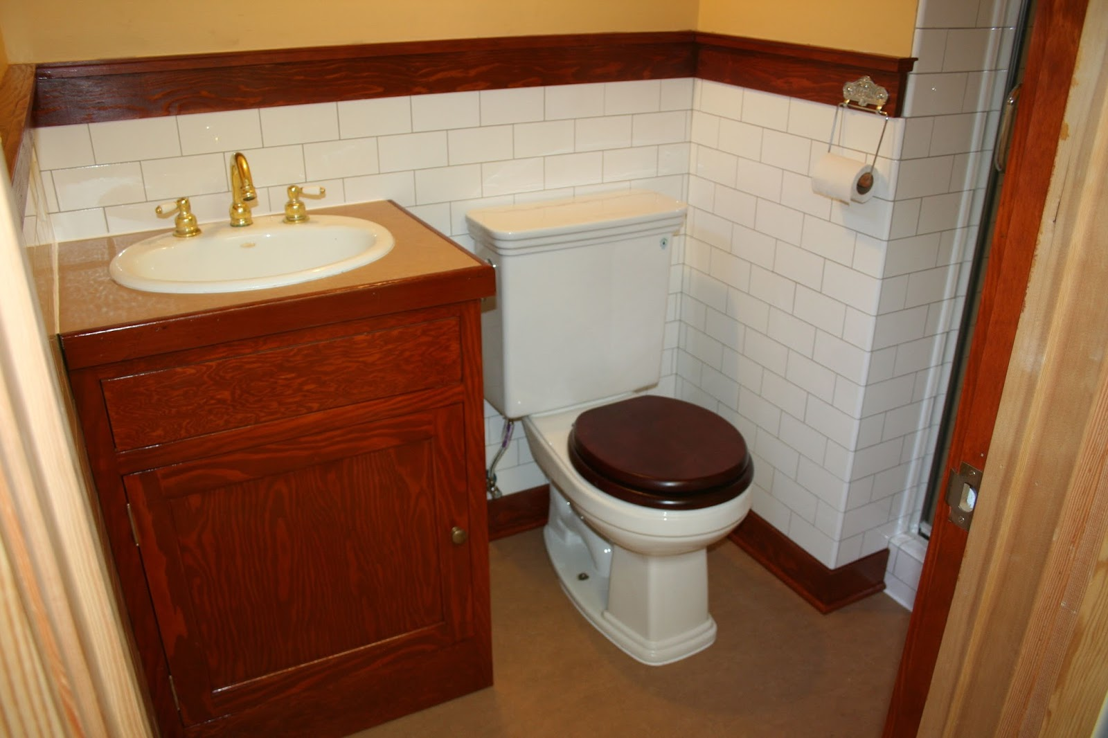 Laurelhurst Craftsman Bungalow: Bathroom Finished For Now