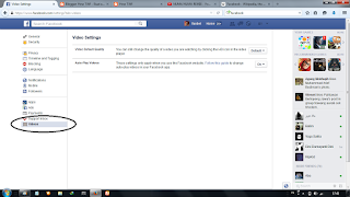 Facebook Video Page Settings