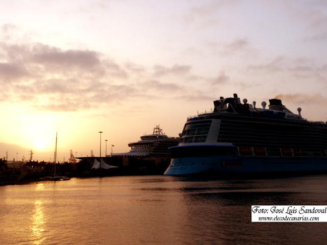 Cruceros en las palmas de Gran Canaria 7 junio