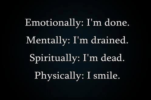 I Share Quotes: Emotionally: I\'m done.