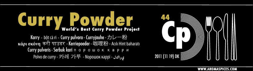 World's best curry powder project