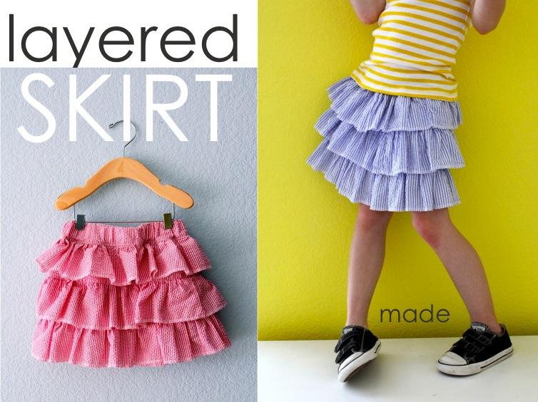 Layered Skirt Made Everyday