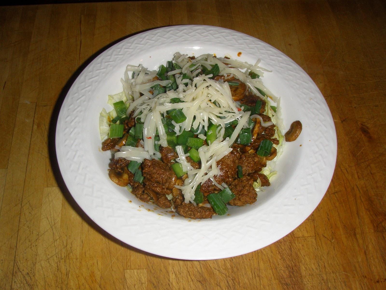 Poonapalooza: Phase 1 friendly Taco Salad