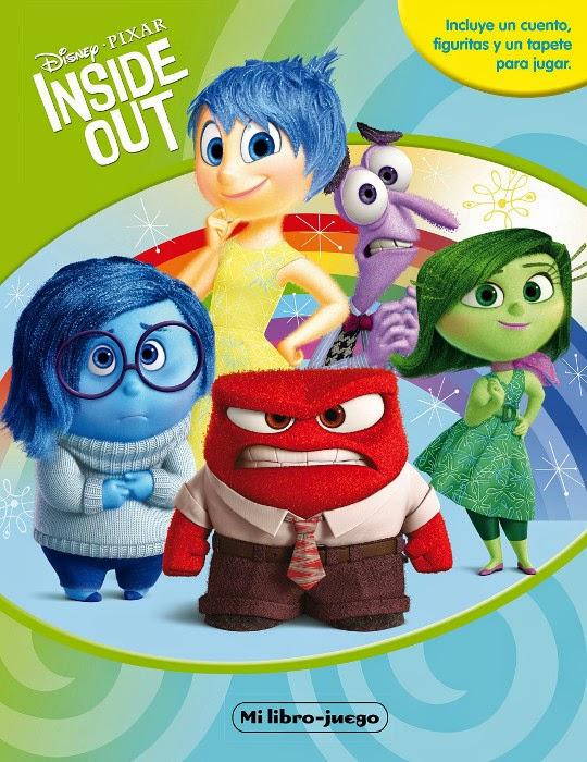 LIBRO - DISNEY Pixar - Inside Out : Mi libro-juego   (16 junio 2015) | INFANTIL | Edición papel
