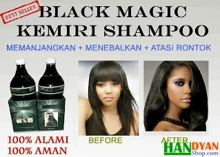 Jual Produk Perawatan Rambut Black Magic Kemiri Shampoo 100% Alami