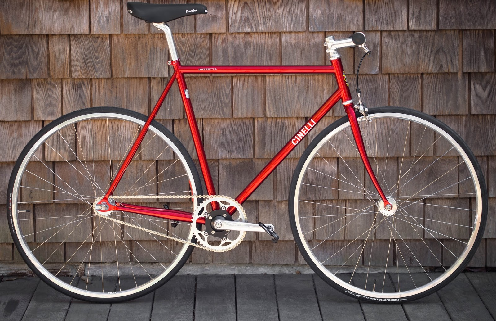 The Monkey Lab: Schlumpf Mountain Drive-Equipped Cinelli ...