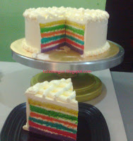 Kek Italian Rainbow