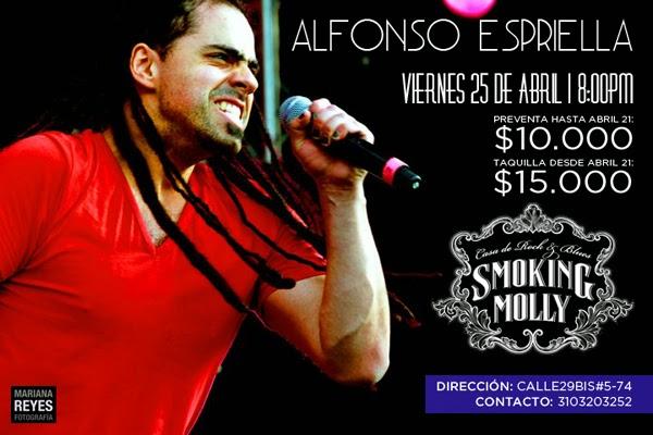 ALFONSO-ESPRIELLA-CONCIERTO-AbrilSMOKING-MOLLY-Bogotá-2014
