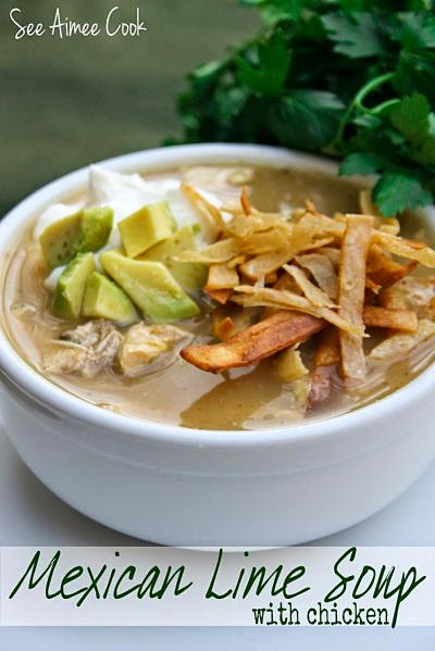 See Aimee Cook: Mexican Lime Soup with Chicken