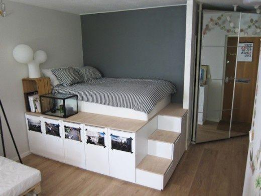 Home Decor Ideas: DIY Storage Under Bed, Ikea