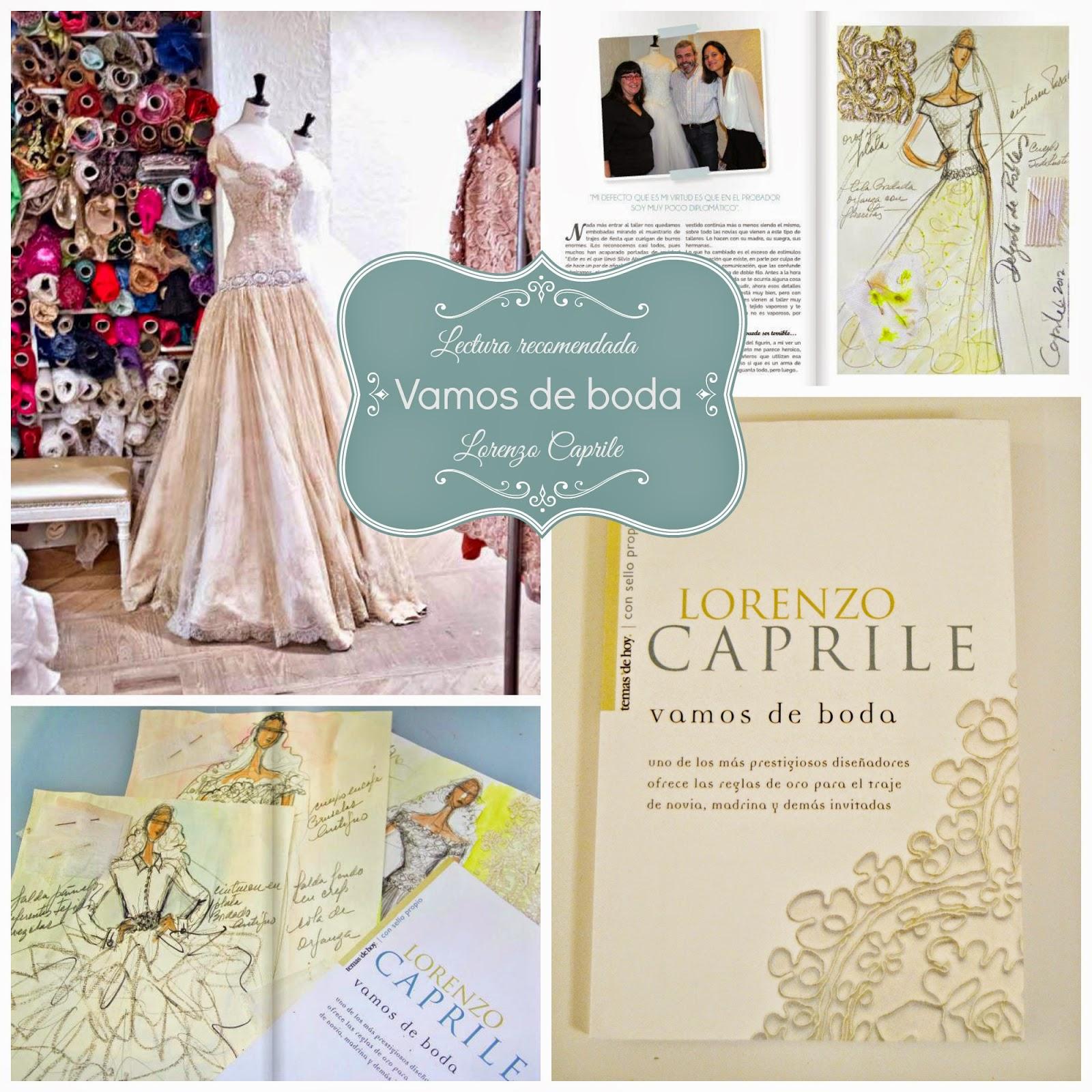 vamos de boda libro entrevista lorenzo caprile atelier blog bodas mi boda gratis