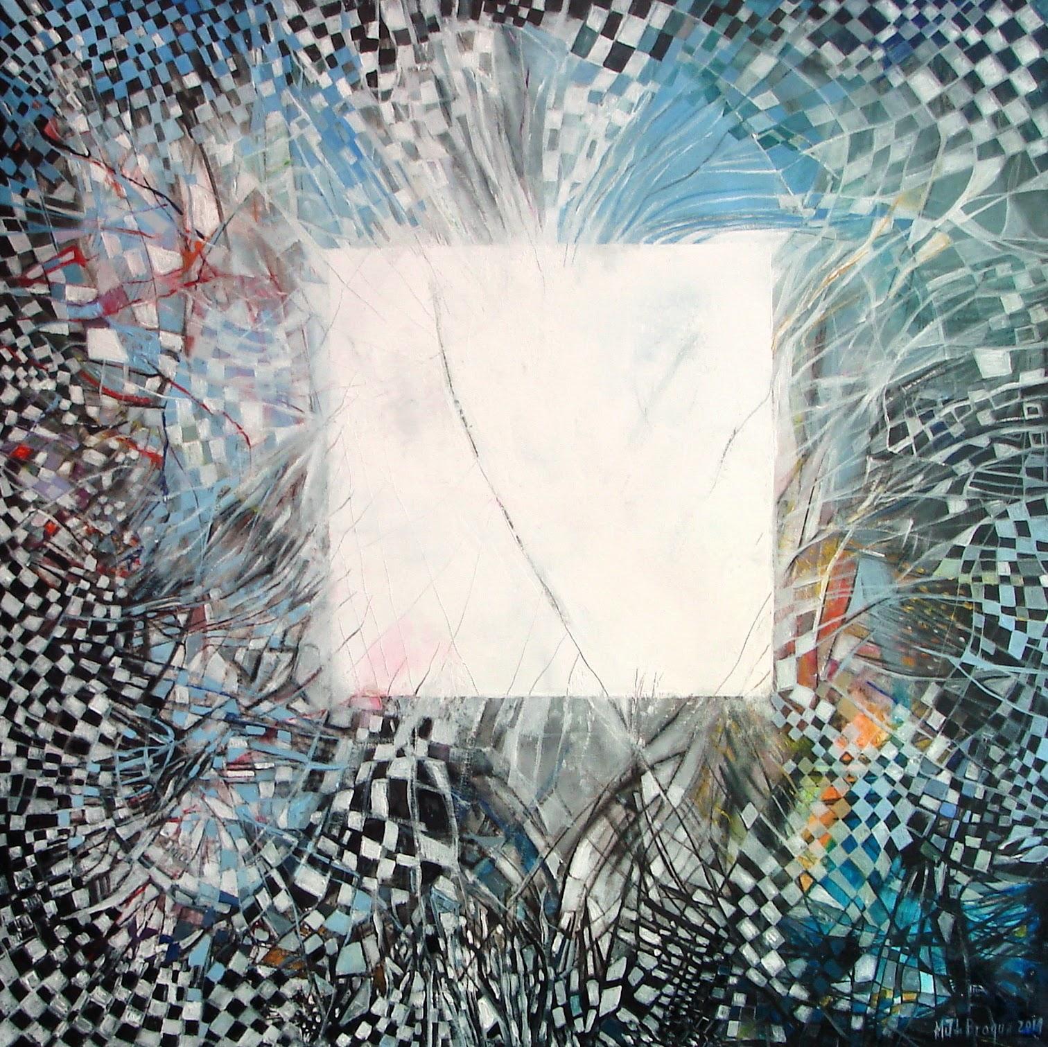 Conscience 2 - 80 x 80 cm - 2014