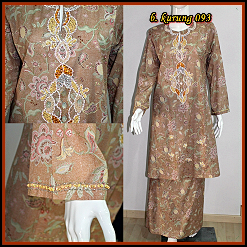 chanteq manis collections baju kurung dengan sulaman manik