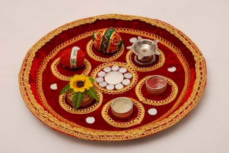 Pictures of aarti thali decorations joy studio design for Aarti thali decoration