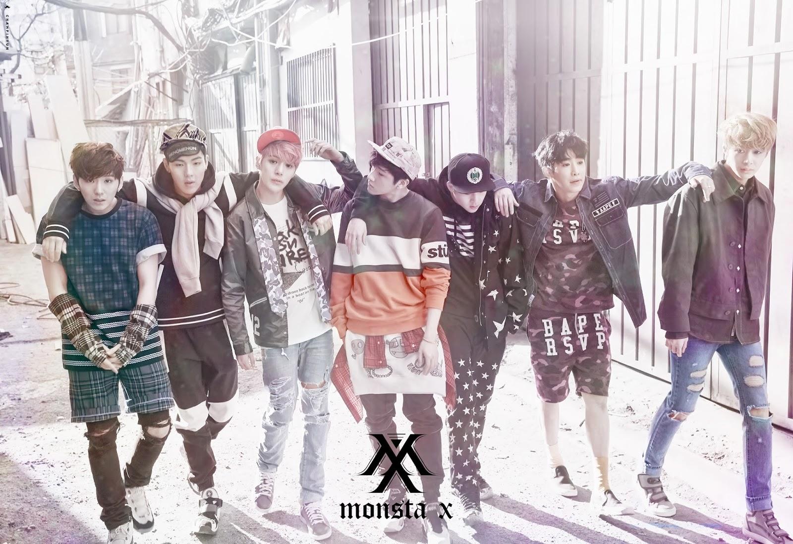 Korean MyuzicStyleZ: MONSTA X - Trespass [Easy-Lyrics]