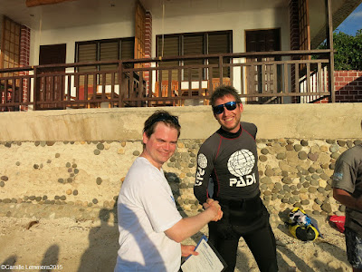 Testimonial of Mattias Twedmark of the November PADI IDC in Moalboal in the Philippines