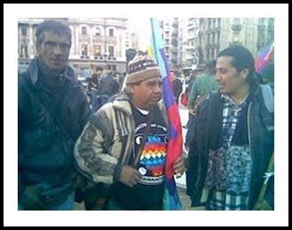 MOVILIZACION DE KOLLAS EN BUENOS AIRES -  ARGENTINA