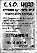 26 /01. Xornada Anticarcelaria C.S.O. Liceo.