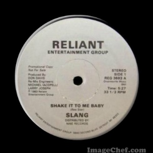 SLANG - Shake It To Me Baby