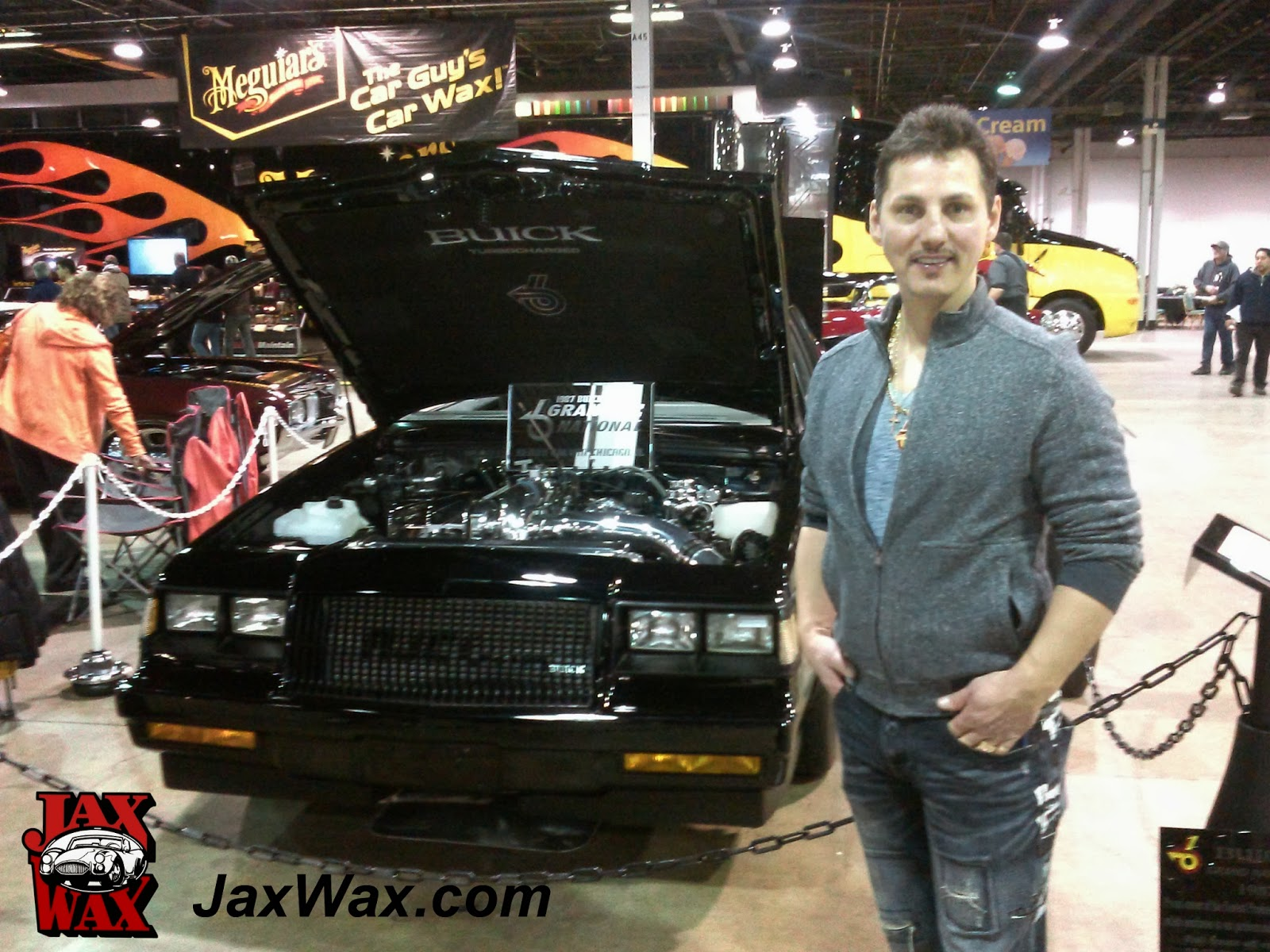 1987 Buick Grand National Jax Wax Customer Chicago World of Wheels