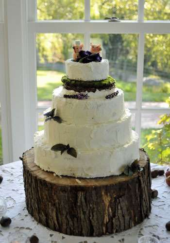 Earthly Epicurean DIY Wedding Cakes