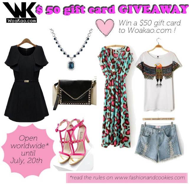 Woakao $50 gift card Giveaway on www.fashionandcookies.com