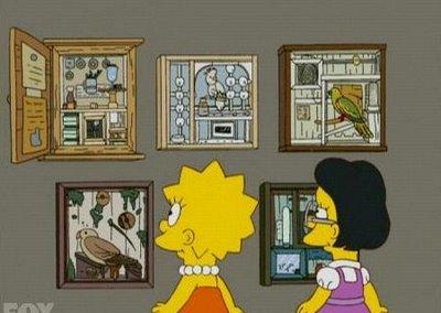 Utopia Parkway Joseph Cornell On The Simpsons