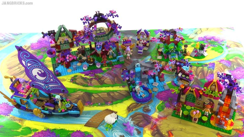 LEGO Elves collection - All sets together!