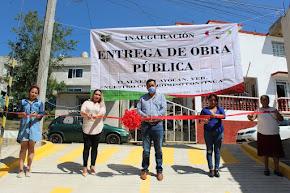 ALCALDE DE TLALNELHUAYOCAN ENTREGA OBRA MILLONARIA DE INFRAESTRUCTURA URBANA