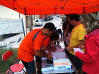 Inscripcions a la Plaça Major de Vilanova de Sau