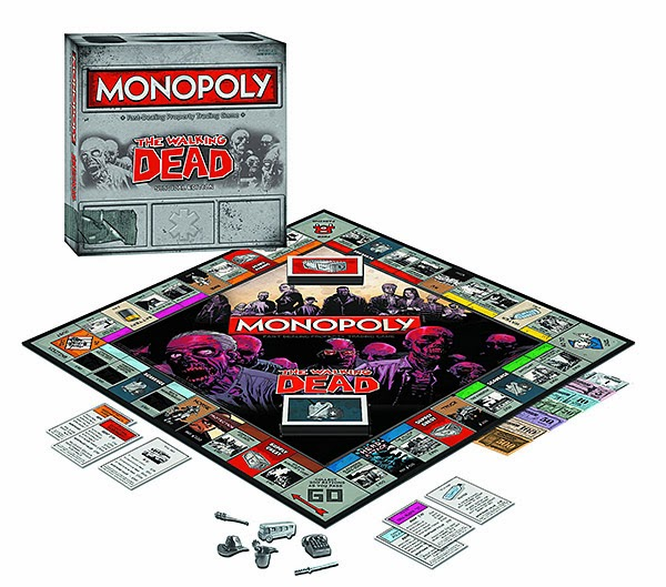 Monopoly versão The Walking Dead