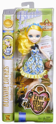 JUGUETES - Ever After High : Enchanted Picnic  Blondie Lockes | Muñeca - Doll  Toys | Producto Oficial 2015 | Mattel | A partir de 6 años