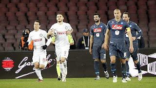Naple 2-2 Inter Milan
